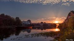 Coucher de soleil (Bruno. Thomé) Tags: pentaxk1 sigma1750mmf28 coucherdesoleil sunset paysage landscape france indreetloire chinon