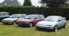 Honda Civic (peterolthof) Tags: westerlee 28052016 manskemulder peterolthof honda civic lj43bx tz77tb crx pv54fp