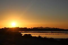 Un tramonto come pochi! #saline, #Marsala (cristinatumbarello) Tags: meravigliedellanatura colori sunset marsala stagone saline