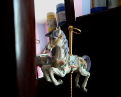 Antique (Brittni Garms) Tags: antique jewelry box music carousel musical