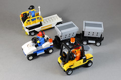 Airport vehicles-2 (LEGO 7) Tags: airport vehicles lego car