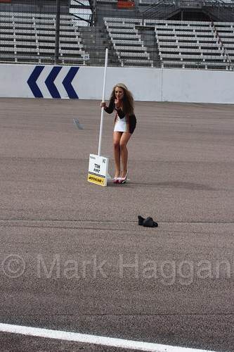 Jake Hill's grid spot at Rockingham, August 2016