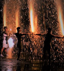 -- (m-miki) Tags: nikon d610 japan                 shrine fireworks festival rain summer night