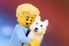Dog-Owner Look Alike! (Lesgo LEGO Foto!) Tags: lego minifig minifigs minifigure minifigures collectible collectable legophotography omg toy toys legography fun love cute coolminifig collectibleminifigures collectableminifigure nikkor nikon d5300 60mmf28drmicro series16 series 16 dogshowwinnerdog show winner dogshow win