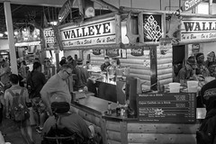 20160903-DSC04333 (POV Heartland) Tags: falconheights minnesota statefair food foodstand crowd bw sony a6300 zeiss carlzeiss sonnarfe1824 fef1824mm sonyalpha