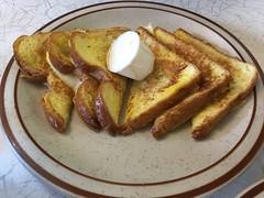 French toast (jumbledpile) Tags: eatinginmadisonatoz prairiediner frenchtoast breakfast