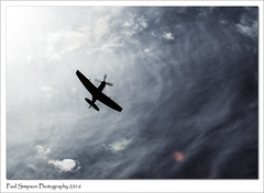 Spitfire TE311 (Paul Simpson Photography) Tags: spitfire bbmf sky shadow plane aircraft aeroplane imageof imagesof photoof photosof paulsimpsonphotography september2016 sonya77 crowle lincolnshire weather wwii fighter