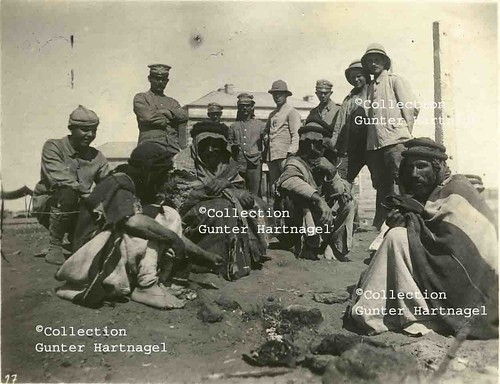 Karkamış (Jerablus), Arabs and Germans at the railway station