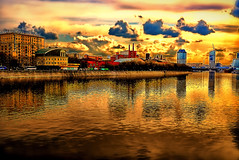 Moscow's Gold (Gena Golovskoy) Tags: street city bridge sunset urban reflection film true architecture clouds river square gold spring russia expression moscow live orthodox urbanscape moskva  thegalaxy abigfave colorphotoaward mygearandme mygearandmepremium mygearandmebronze mygearandmesilver mygearandmegold mygearandmeplatinum mygearandmediamond dblringexcellence galleryoffantasticshots flickrstruereflection1 flickrstruereflection2 flickrstruereflection3 flickrstruereflection4 flickrstruereflection5 flickrstruereflection6 flickrstruereflection7 flickrstruereflectionexcellence trueexcellence1 excellence1 trueexcellence2 trueexcellence3 rememberthatmomentlevel4 rememberthatmomentlevel1 rememberthatmomentlevel2 rememberthatmomentlevel3 rememberthatmomentlevel7 rememberthatmomentlevel9 rememberthatmomentlevel5 rememberthatmomentlevel6 rememberthatmomentlevel8 bestgalleryoffantasticshots rememberthatmomentlevel10