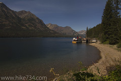 """Waterton Lake at Goat Haunt • <a style=""""font-size:0.8em;"""" href=""""http://www.flickr.com/photos/63501323@N07/6997812540/"""" target=""""_blank"""">View on Flickr</a>"""