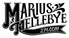 New Logo (Marius Mellebye / 276ccm) Tags: logo typography design typographic mariusmellebye 276ccm caetanocalomino