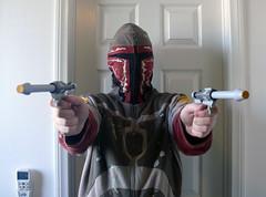 Don't move, Jedi! (Oky - Space Ranger) Tags: life star community lego attack size ii clones boba wars build clone episode pistols blaster jango fett eurobricks
