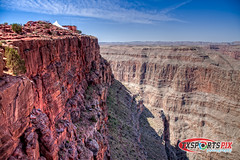 Guana Point - Grand Canyon - West Rim (TxSportsPix) Tags: arizona landscape outdoors scenery lasvegas grandcanyon nevada canon5d 24105mmf4 txsportspix