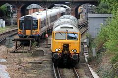 Swanage Bound (jalapenokitten) Tags: diesel unitedkingdom railway dorset locomotive bournemouth gbr class50 swanagerailway class57