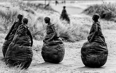 Weebles? (milo42) Tags: modernart northumberland southshields 2012 weebles httpwwwchrisnewhamphotographycouk