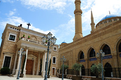 The great Al Amine mosque of Beirut (Dip_44) Tags: lebanon mosque beirut liban d300