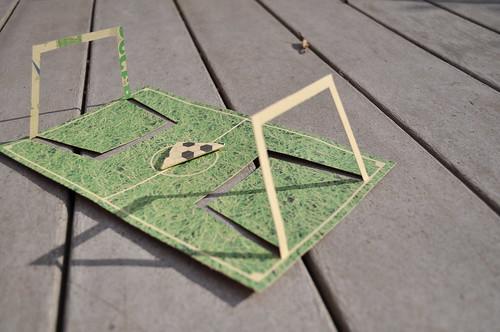 paper soccer printable goodiebag