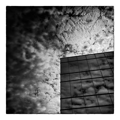 No 18 Wynford Dr 02 (thelearningcurvedotca) Tags: street city light sky urban blackandwhite bw toronto canada reflection building brick window glass lines wall architecture facade outdoors design blackwhite construction downtown pattern exterior outdoor steel perspective canadian iamcanadian bwemotions blackwhitephotos true2bw cans2s blackandwhiteonly wwwareamagazinecom bwartaward blogtophoto mygearandme