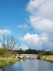 Big Skies over Carton (bbusschots) Tags: bridge ireland history clouds river maynooth kildare localhistory cartonestate topazadjust topazdenoise