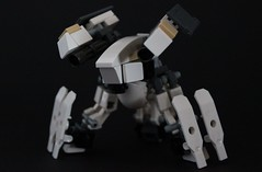 EU Infantry Fighting Drone (Andreas) Tags: lego eu europeanunion mecha mech drone thepurge thepurgeeu infantryfightingdrone