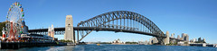 Sydney Harbour (IAGD+P) Tags: panorama sydney australia nsw lunapark operahouse sydneyharbour sydneyharbourbridge sydneycbd