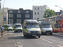 Police Wagons (Ryanbus22) Tags: old sussex mercedes benz bill south police van coppers sprinter