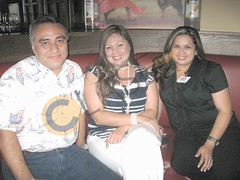 Alex Palacios, Brenda Cantú y Mónica López.