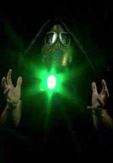 Nuclear Power (MaranzaMax) Tags: light green painting energy power nuclear atomic 2012 strobist maranzamax
