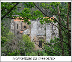 100 rutas (sacre) Tags: españa trekking spain hiking olympus galicia monastery senderismo monasterio pontevedra carboeiro silleda olympus570uz