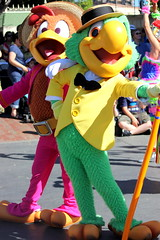 Jose and Panchito (ourdisneydays) Tags: disneyland jose disney panchito josecarioca thethreecaballeros furcharacter soundsational mickeyssoundsationalparade soundsationalparade donaldsfiestafantastico