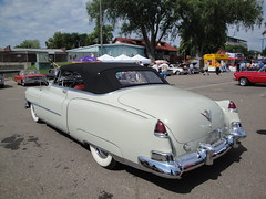 50 Cadillac (DVS1mn) Tags: street old hot classic cars car minnesota june st vintage paul fairgrounds gm state cadillac rod annual 50 rods mn luxury 1950 hotrods caddy association 2012 generalmotors 39th msra streetrods backtothefifties nineteenfifty