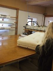 Mistress Matress (birdlouise) Tags: closed factory tour beds alpha deserted shut