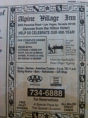 Alpine Village 1995 (frankasu03) Tags: las vegas restaurant 60s village retro alpine 80s 70s 50s 90s eateries