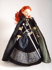 LE Merida 18'' Doll With Hair Drawn Back - Full Front View (drj1828) Tags: inch doll ears disney merida pixar brave ponytail 18 limited edition