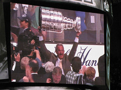 Head Coach Darryl Sutter (mark6mauno) Tags: cup hockey nhl losangeles los coach angeles head center kings national stanley sutter staples league stanleycup darryl staplescenter losangeleskings nationalhockeyleague darrylsutter 201112 canonpowershotsx10is