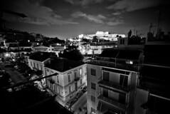 athens @ night (alphaios) Tags: bw white black night canon 10 sigma athens greece mm 20 griechenland 1020 schwaz akropolis weis 550d