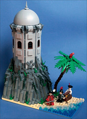 Lost harbor (Fianat) Tags: lost harbor lego time russia pirates historic pirate cuusoo