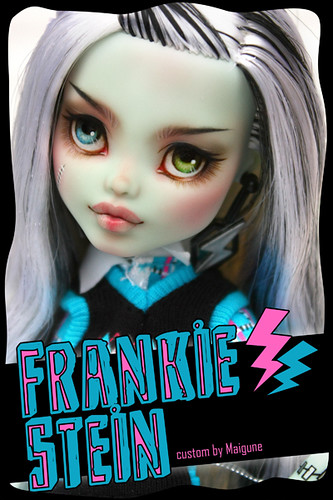 Monster High Frankie Stein Repaint