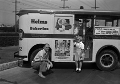Helms Bakery October 5th,1941 for Fire Prevention Week Photo by C. Younkers Endsley