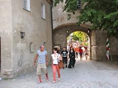Burghausen / Castle Gate 0002 (Mr.J.Martin) Tags: carnival castle bavaria austria gothic medieval fortification fortress middleages burghausen salzach burgfest salzachriver wittelsbachs burghausencastle