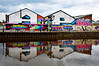 AMP!! (Iacobus Images) Tags: trip people buildings reflections manchester graffiti boat canal nikon ship colours angles d90 18105vr