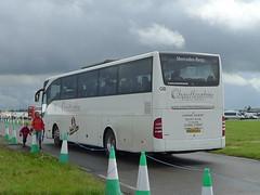 BK08NAU Chauffeurhire Plus Ltd., Chipping Sodbury at RIAT (neiljennings51) Tags: bus tattoo mercedes benz coach air royal gloucestershire queen international plus ltd 2012 psv pcv fairford chipping tourismo riat sodbury chauffeurhire bk08nau