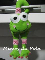 Sapo - Enfeite de Maçaneta (Mimos da Pola) Tags: da sapo pola mimos enfeite lembrancinha enfeitedeporta enfeitedemaçaneta