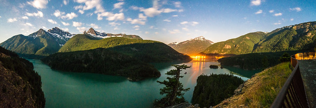 Diablo Lake Starscape