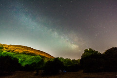 Milky way above Mt. Meron -tweaked (Aviram Ostrovsky) Tags: sky night way stars israel milky mtmeron