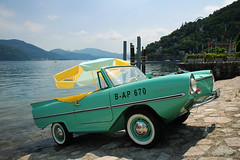 Amphicar (coastwalker) Tags: auto italy car amphicar lagomaggiore cannobio amphibienauto coastwalker bap670