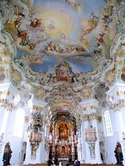 Wieskirche 1 (Arnim Schulz) Tags: church germany liberty deutschland bavaria iglesia kirche alemania allemagne baviere barock eglise rococo barroco baviera rokoko