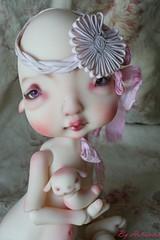 Portrait d'Egglantyne (heliantas) Tags: doll body handmade bjd kane humpty dumpty blushing faceup nefer
