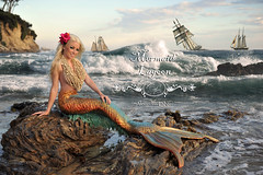 Shipwreck Cove by Alexandria LaNier (Alexandria LaNier) Tags: sea shells beach fairytale ship pirates fantasy tall mermaid alexandrialanier
