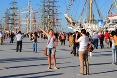 THE TALL SHIPS IN LISBON (Andr Pipa) Tags: portugal europa europe sailing arte lisboa lisbon sailors vessel sail nautical velas tallships lisbonne elegancia mastros nautic navios nutico veleiros portoflisbon portolisboa andrpipa grandesveleiros photobyandrpipa tallshipsrace2012 greatvessels classavessels